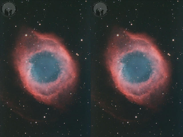 Helix Nebula for Stereo 3D