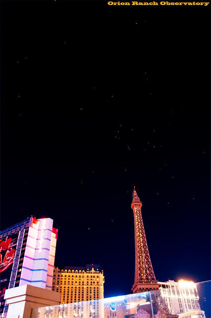 Orion over Paris