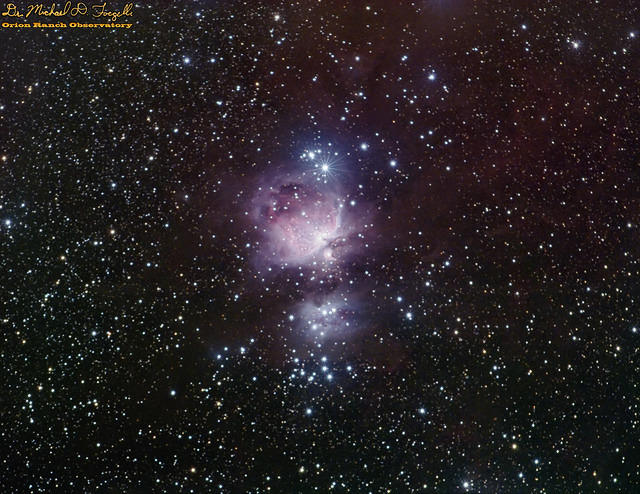 M42, M43, NGC-1980-1982 - Sword of Orion - 151207