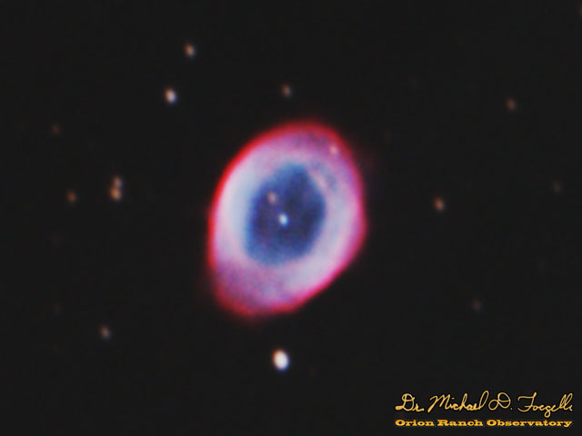 M57 - The Ring Nebula - 121101b