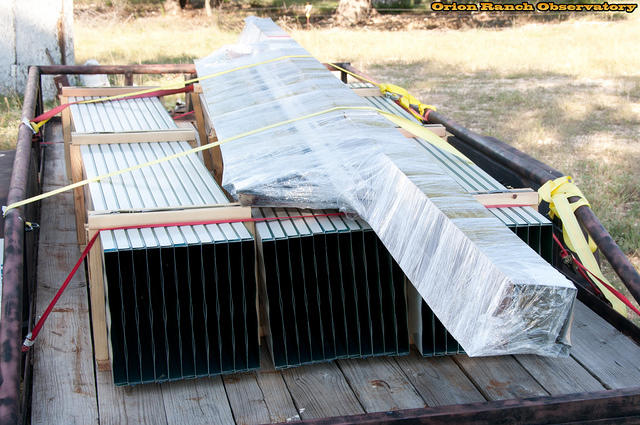 Roofing Materials Arrive