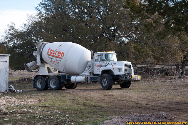 Day 4 - Second Concrete Truck