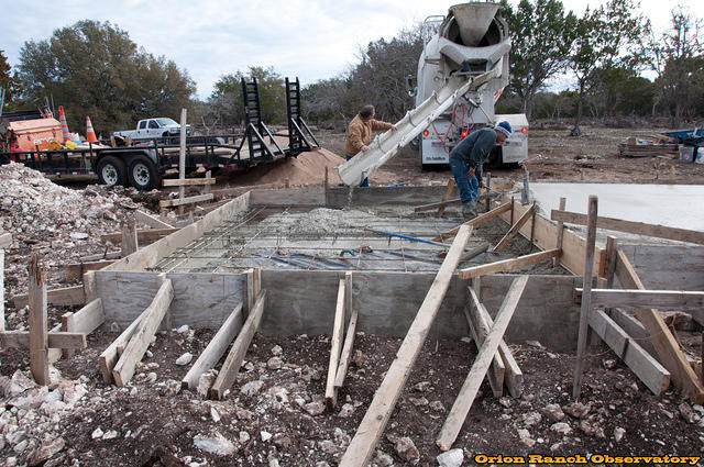 Day 4 - Second Concrete Truck Pour - Oops!