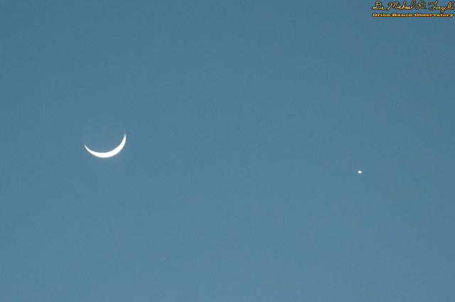 Moon/Venus Conjunction 3/22/2015