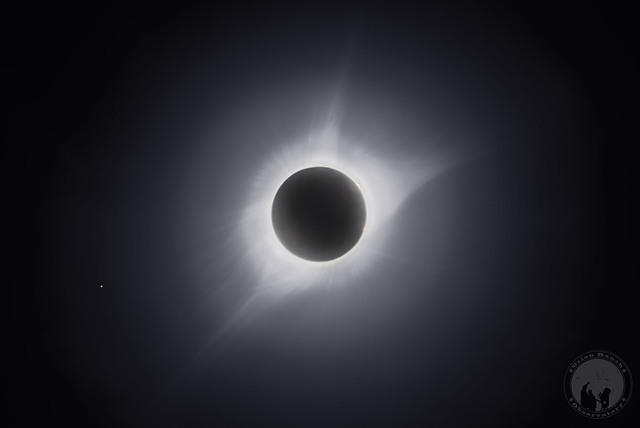 Eclipse Totality Corona & Flares