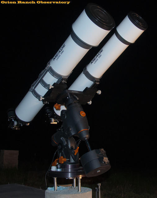 Meade AR5 and AR6 on CGEM