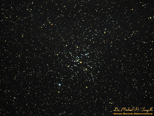 M41 Open Cluster with Lens Correction