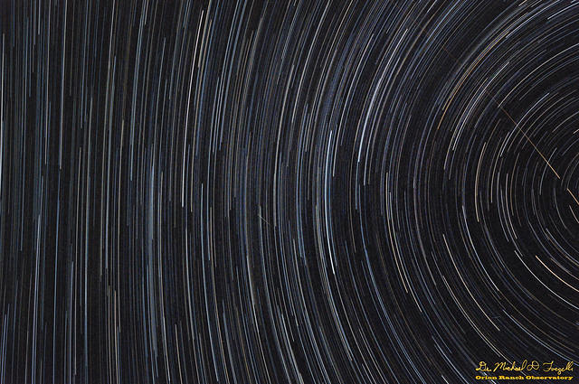 August Star Trails over ORO - 130809