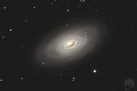 M64 - Blackeye Galaxy - 180613 crop