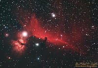 IC434 - Horsehead Nebula Wide Field - 090219b crop