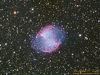 M27 - The Dumbbell Nebula - 141015