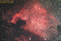 NGC 7000 - North American Nebula - 090716