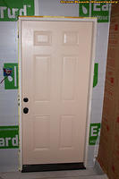 Trimmed Door Foam