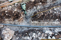 Trenching Main AC Line