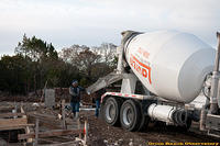 Day 4 - First Concrete Truck