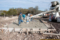 Day 4 - Second Concrete Truck Pour