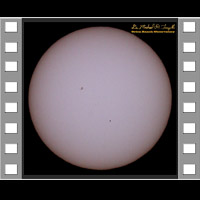 Mercury Transit - 160509 - 4 Minute Animation - 800x800
