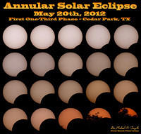 Total Annular Solar Eclipse, May 20th, 2012