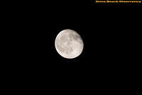 Full Moon using AT-80LE with Canon 450D