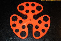 Fluorescent Orange 3-Piece Spreader