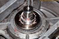 Spindle After Nut Removal