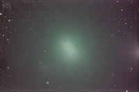 Comet Wirtanen background stretch